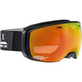 Alpina Estetica QMM Goggles black matt/red